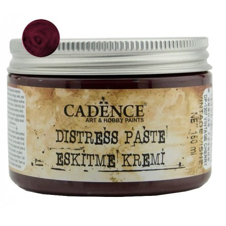 DISTRESS PASTE Burdeos Antiguo