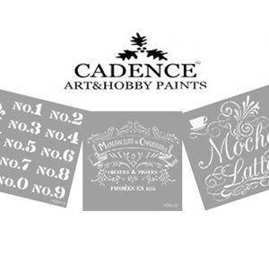 Stencil CADENCE home Decor Midi